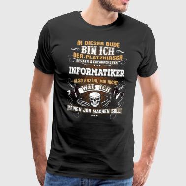 Edles Berufe-Shirt für den Informatiker - Männer Premium T-Shirt