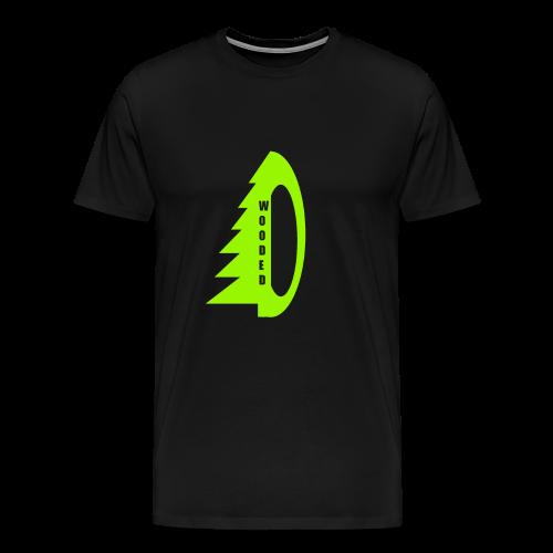 WOODED green - Männer Premium T-Shirt