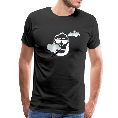 Dampf Affe - Männer Premium T-Shirt