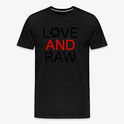 Love Raw - Men's Premium T-Shirt