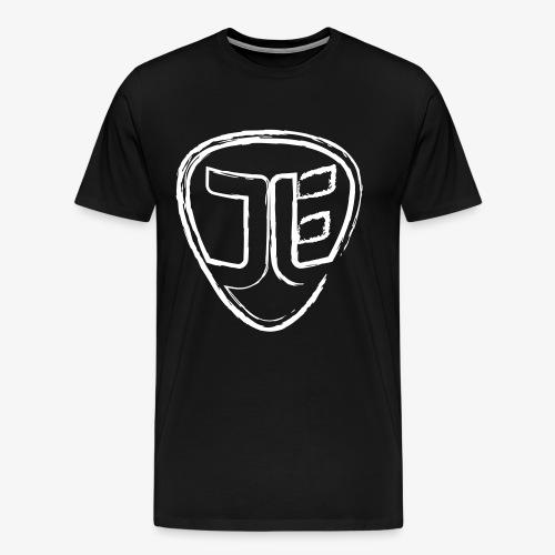 Jan-Luca Ernst Logo | Brush-Style - Männer Premium T-Shirt