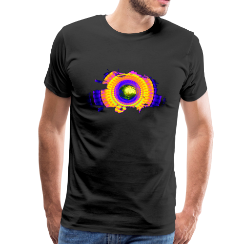 cellular eye four popart - Männer Premium T-Shirt