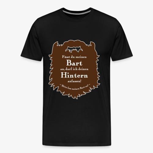 Bartregeln - Männer Premium T-Shirt
