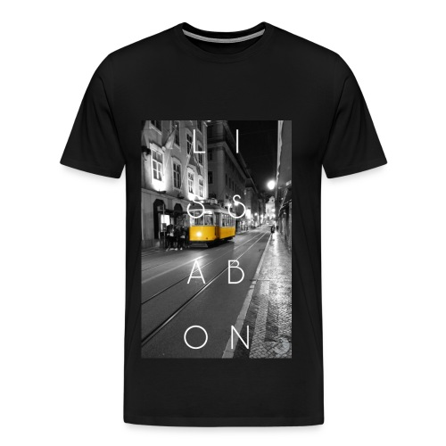 CITY Collection | Lissabon - Männer Premium T-Shirt