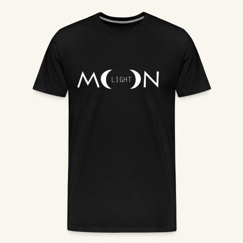MoonLight white - Maglietta Premium da uomo