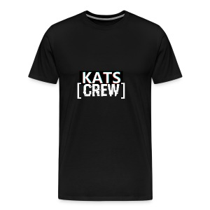 KATS CREW Logo - Koszulka męska Premium