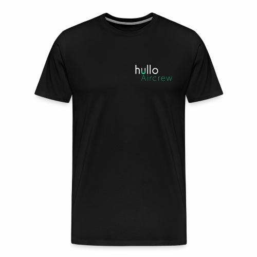 hullo Aircrew Dark - Men's Premium T-Shirt