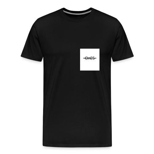 Brustaufdruck - Männer Premium T-Shirt