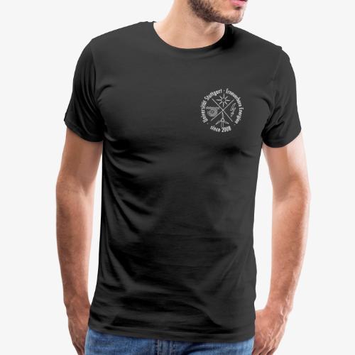 Chest Logo weiß - Männer Premium T-Shirt