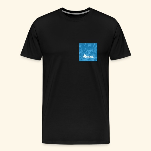 Moons rasgado - Camiseta premium hombre