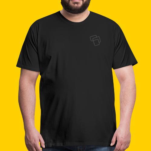 Big Logo Grey - Men's Premium T-Shirt