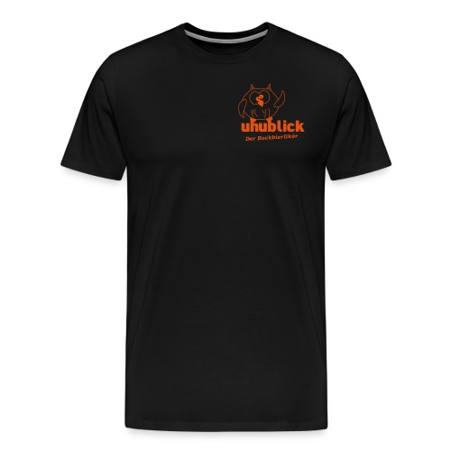 Uhublick - Der Bockbierlikör - Männer Premium T-Shirt