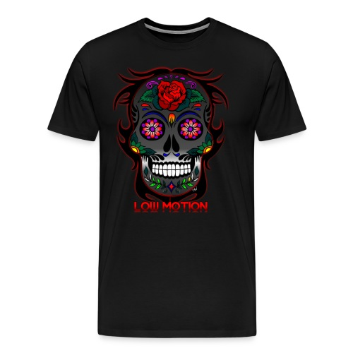 Low Motion Face Gray - Camiseta premium hombre