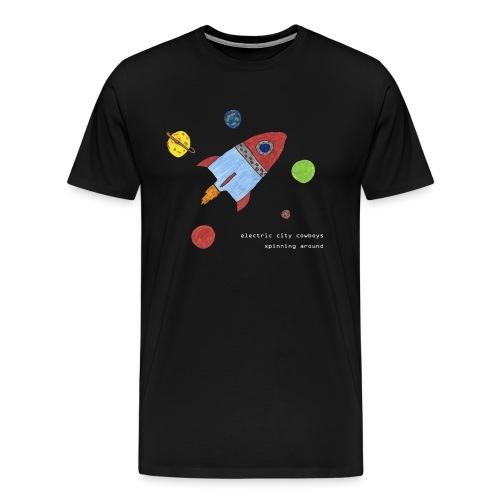 spaceship - Premium-T-shirt herr