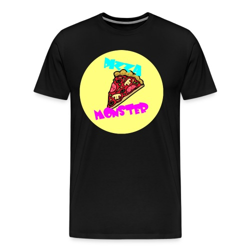 Pizza Monster - Männer Premium T-Shirt