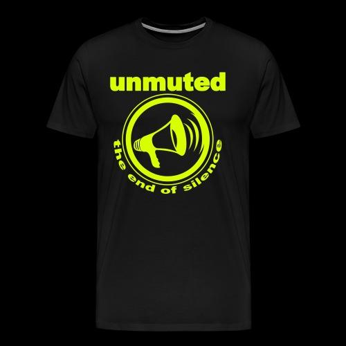unmuted - Männer Premium T-Shirt