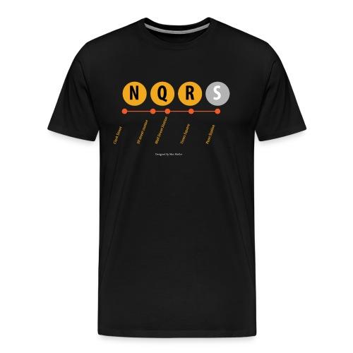 N ew York Metro - Mannen Premium T-shirt