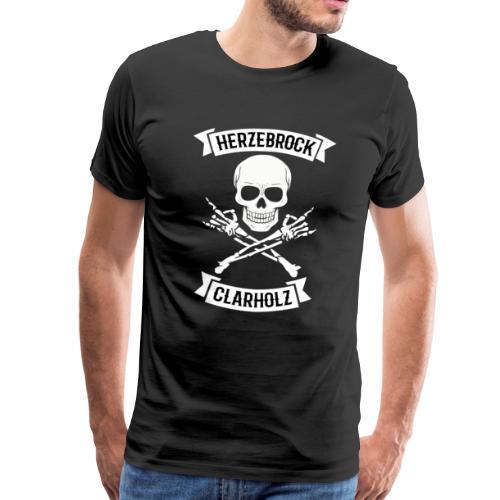 Skullhead Shirt - Herzebrock-Clarholz - Männer Premium T-Shirt