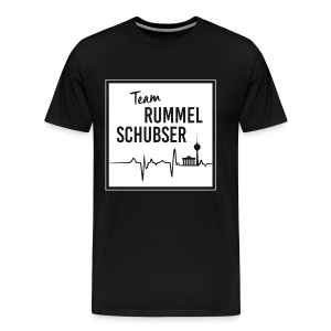 Team RS in eckig und weiß - Männer Premium T-Shirt