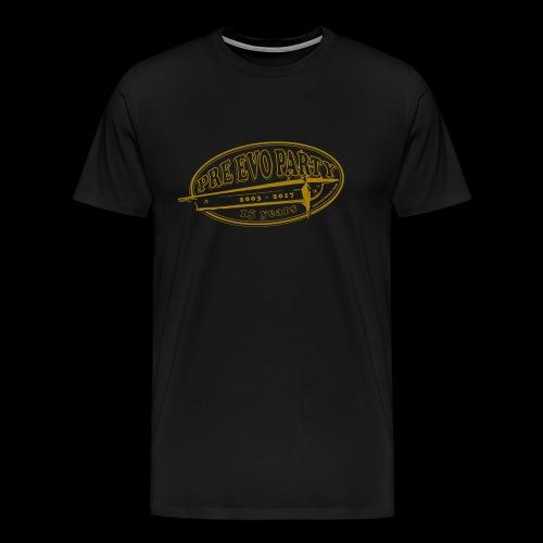 P.E.P. 2017 Ocker-Gold - Männer Premium T-Shirt