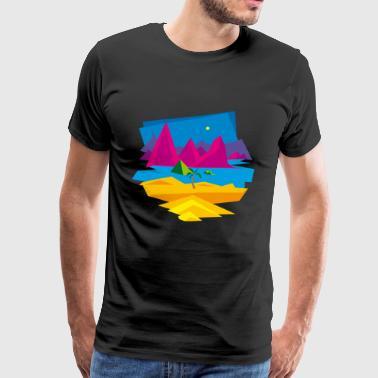 stranden - Premium-T-shirt herr