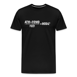 HODL calculation - Men's Premium T-Shirt