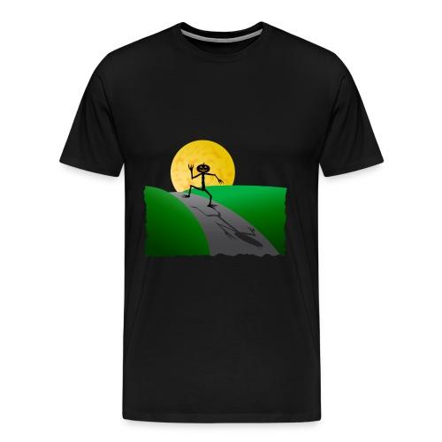 Uomo zucca di Halloween - Maglietta Premium da uomo