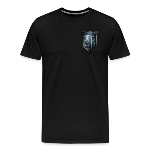 Marble RavenHawk Gaming Logo - Men's Premium T-Shirt
