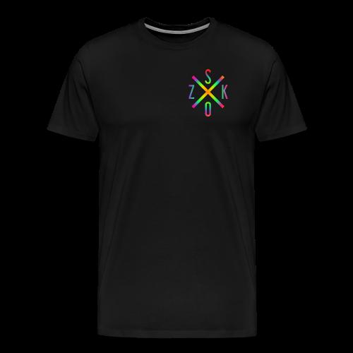 SK X OZ // COLOUR - Männer Premium T-Shirt