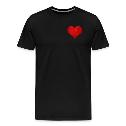 Herz Logo - Männer Premium T-Shirt