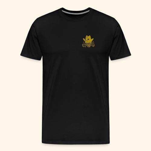 SKULL GOLD - Männer Premium T-Shirt