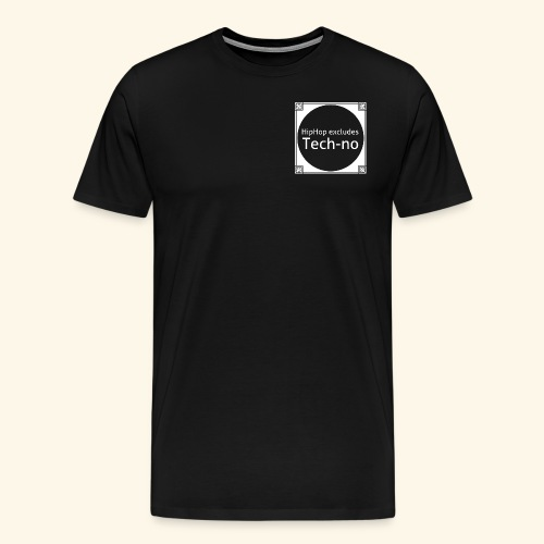 HipHop excludes Techno Underground - Männer Premium T-Shirt