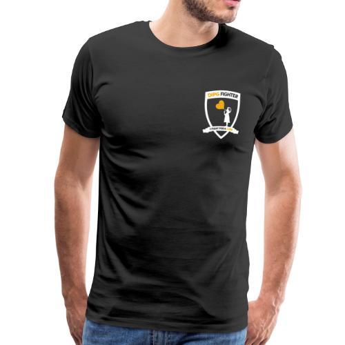 DIPG Wappen Weiß - Männer Premium T-Shirt