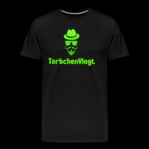 TörbchenVlogt Logo - Männer Premium T-Shirt