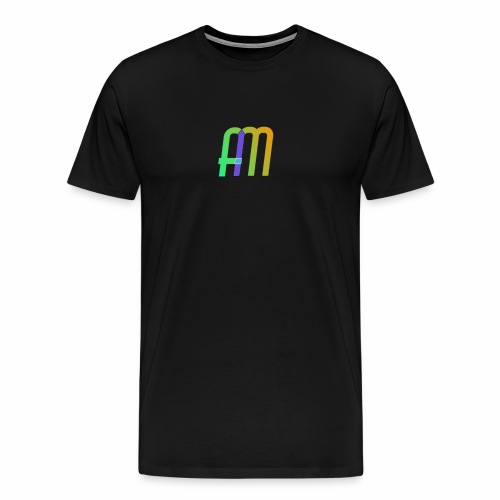 AM Logo - Men's Premium T-Shirt