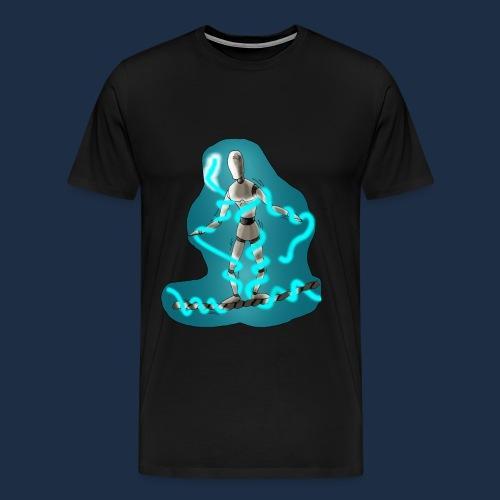 Seiltanzende Puppe - Männer Premium T-Shirt