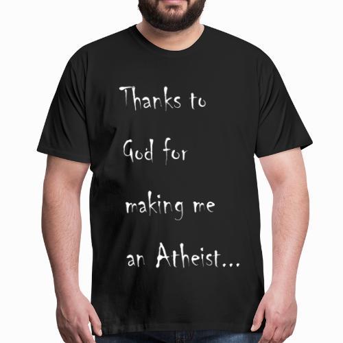 Atheist - Men's Premium T-Shirt