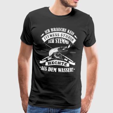 Angeln - Ich brauche kein Fitnessstudio - Männer Premium T-Shirt