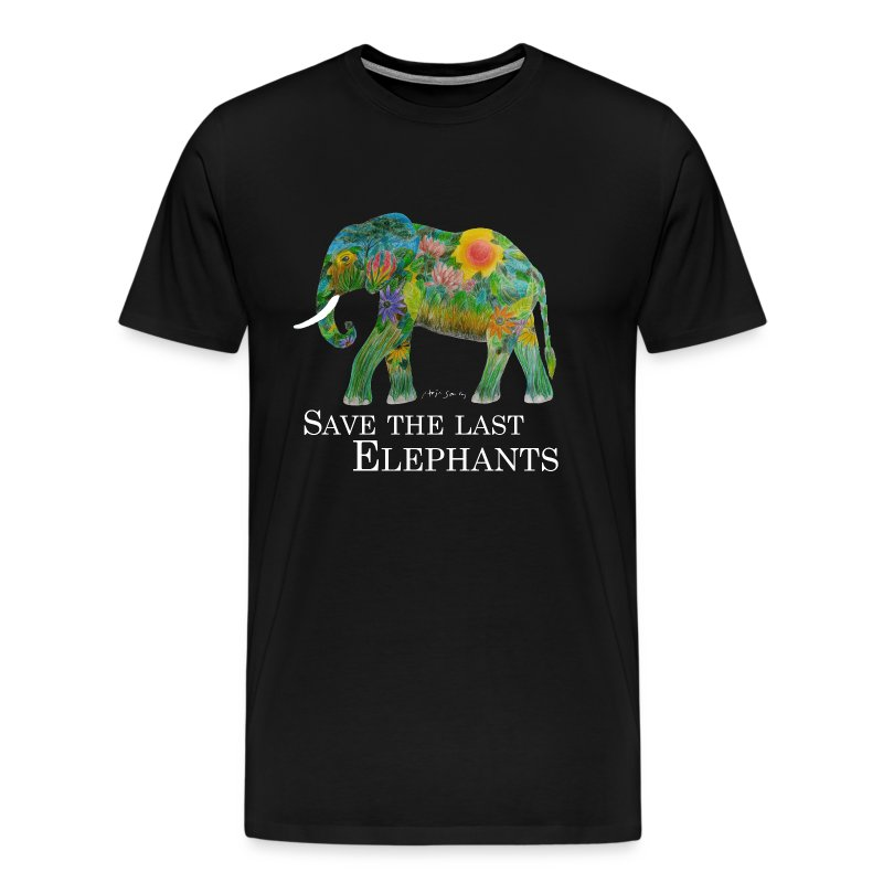 SAVE THE LAST ELEPHANTS - Männer Premium T-Shirt