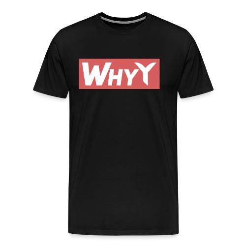 Block Red | WhyY - Men's Premium T-Shirt