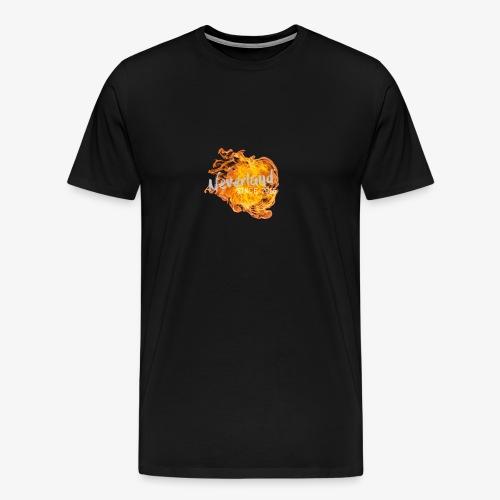 NeverLand Fire - Mannen Premium T-shirt