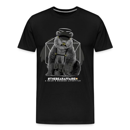 TBA Shirts Male BEARLINE Daddy Bear - Männer Premium T-Shirt