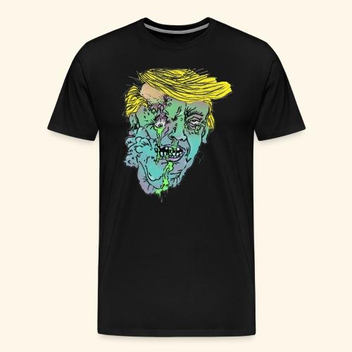 Zombie-Trump - Männer Premium T-Shirt