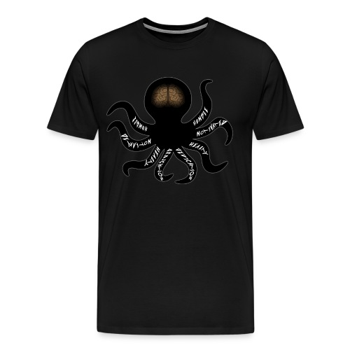 Life Of Squid *TheMerk - Mannen Premium T-shirt