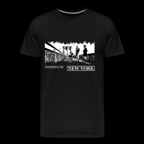Inspired by New York - Männer Premium T-Shirt