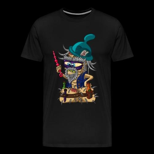 Der mächtige Pennermagier Dumpelcock - Männer Premium T-Shirt