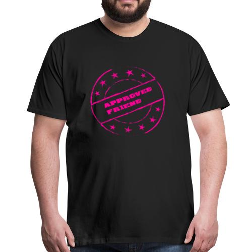 AFriend - Premium-T-shirt herr