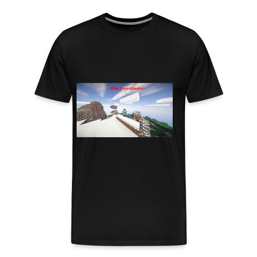 Minecraft Ausenländer - Männer Premium T-Shirt