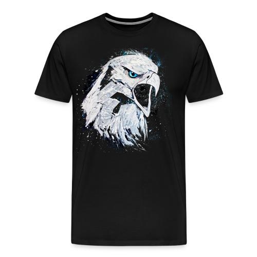 David Pucher Art Adler - Männer Premium T-Shirt