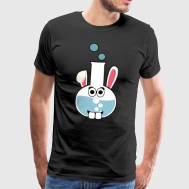 Chimica Chimico Easter Bunny Bunny regalo di Pasqua - Maglietta Premium da uomo